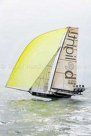 Be Light, HUN 18, 18ft Skiff, Euro Grand Prix Sandbanks 2016, 20160904449