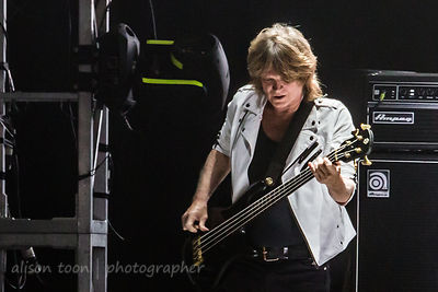 Leigh Foxx, bass, Blondie, TBD Fest, Sacramento 2014