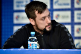 Zlatko HORVAT of PPD Zagreb during the Final Tournament - Final Four - SEHA - Gazprom league, press conference, Croatia, 31.03.2016, ..Mandatory Credit ©SEHA/Nebojša Tejić.