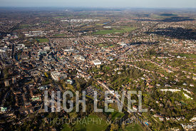 Aerial Photographs Taken In and Around Guildford, UK