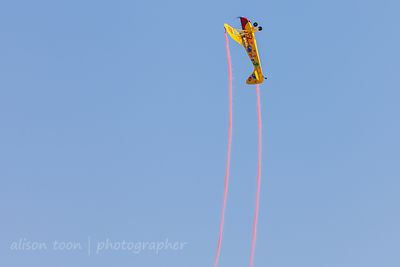 Kent Pietsch, Interstate Cadet, aerobatics