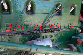 British Wallis tractor
