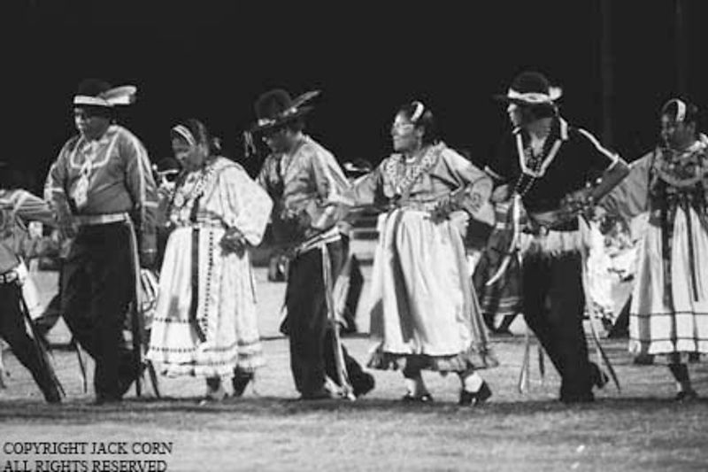 Choctaw tradtional  dance