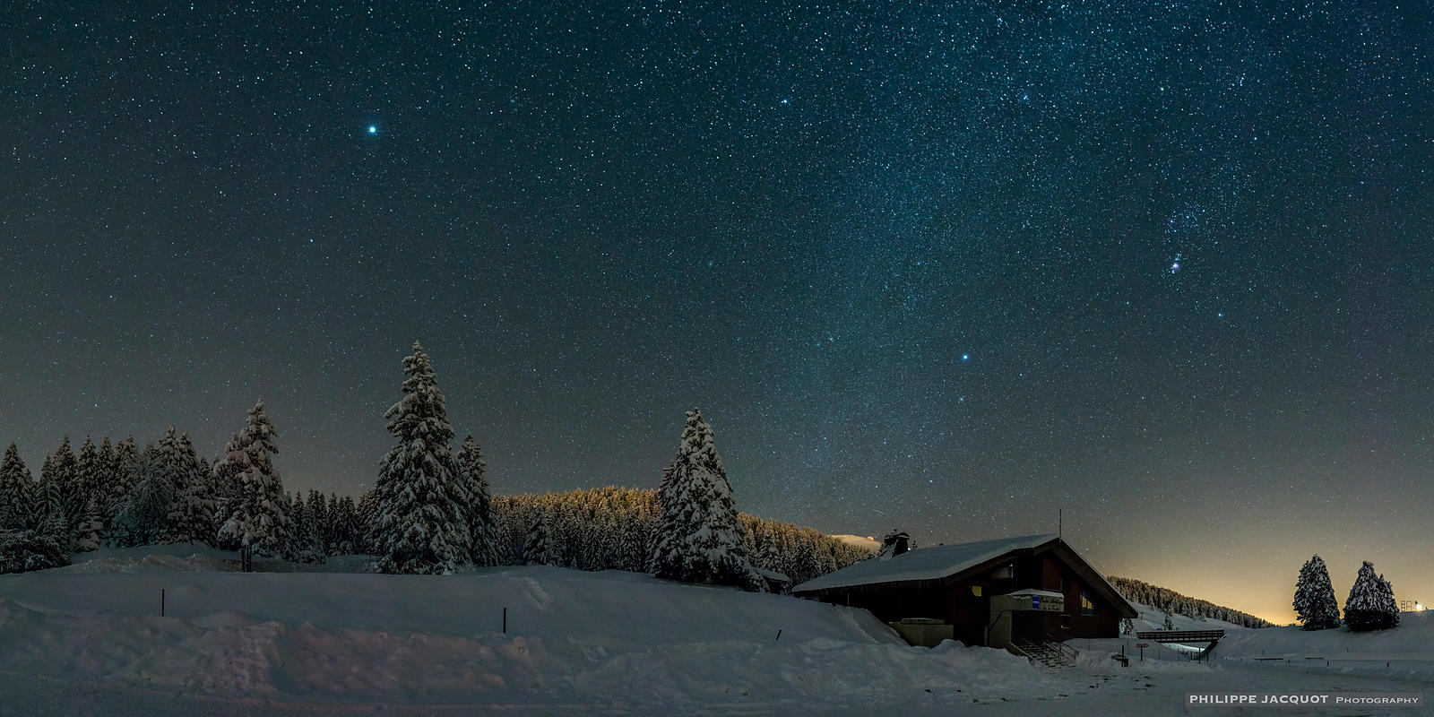 Jupiter and Orion - Annecy Semnoz