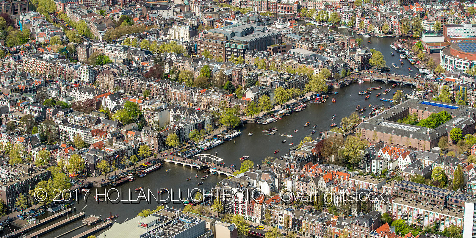 Amsterdam the Capital and Largest City in the Netherlands