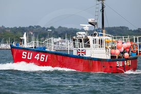 Fishing boat,  SU 461, Purbeck II