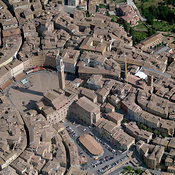 Siena aerial photos