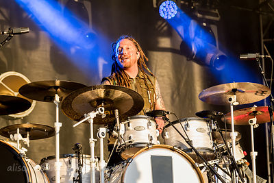 Barry Kerch, drums, Shinedown