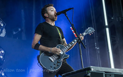 Tim McIlrath, vocals, Rise Against