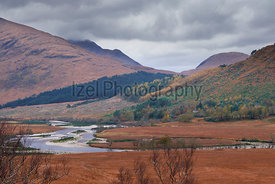 Glen Etive, Scottish Highlands.