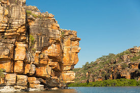 King George River on the Kimberley Coast in Western Australia.