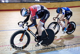 Junior Men Sprint 1-2 Final. 2016/2017 Track O-Cup #3/Eastern Track Challenge, Mattamy National Cycling Centre, Milton, On, February 11, 2017