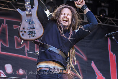 Kyle Sanders  of HELLYEAH, Aftershock 2014