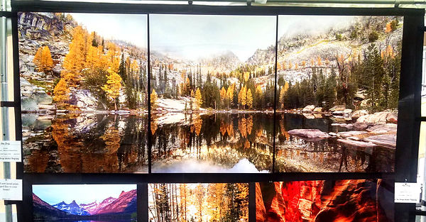 Fall Reflections Triptych