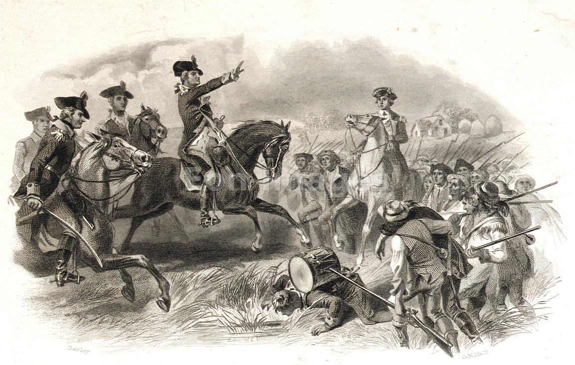 George Washington at Battle of Monmouth