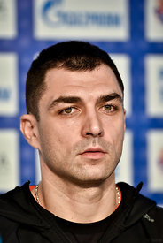 Renato SULJIĆ of Veszprem during the Final Tournament - Final Four - SEHA - Gazprom league, press conference, Croatia, 31.03.2016, ..Mandatory Credit ©SEHA/Nebojša Tejić.