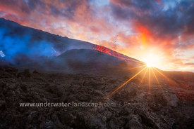 Sunrise volcanique!