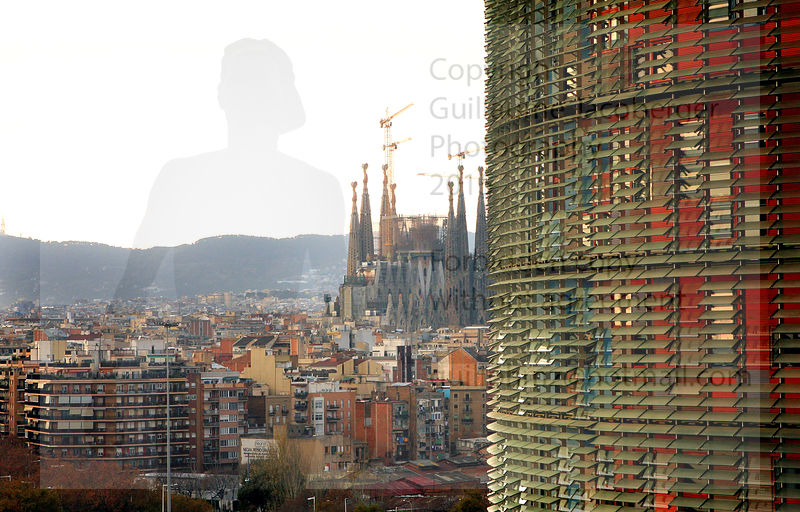 Agbar Tower and Sagrada Familia