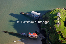 Old and New Lifeboat Stations ,Tenby, South Beach Pembroke