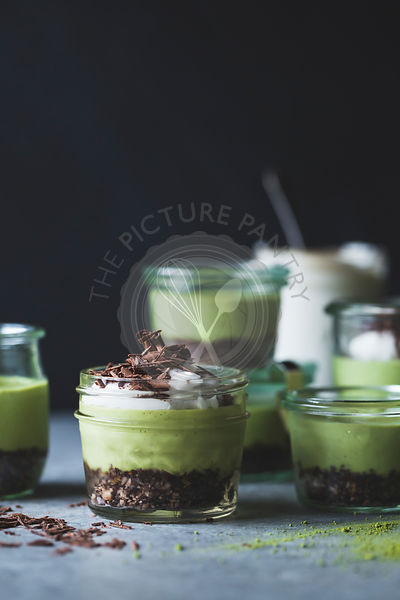 grasshopper pies in jars