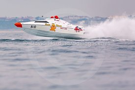 The Beaver Returns, N-10, Fortitudo Poole Bay 100 Offshore Powerboat Race, June 2018, 20180610149