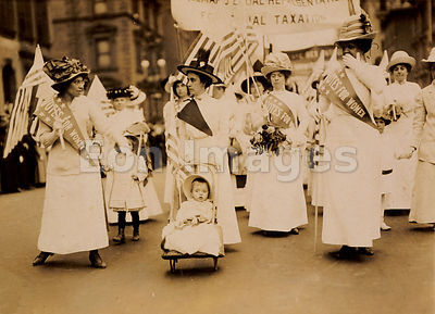 Suffrage parade, 1912