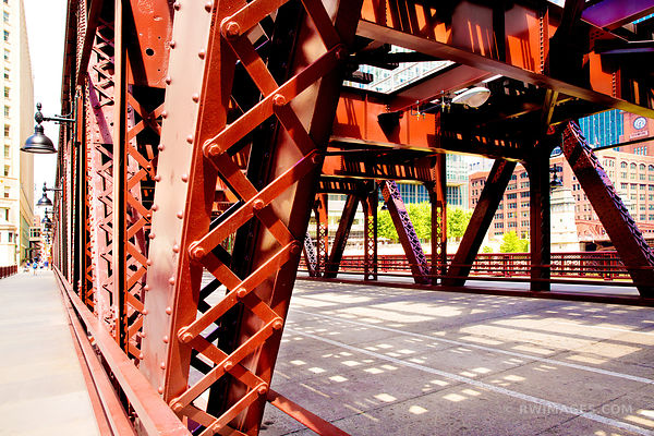 WELLS STREET BRIDGE CHICAGO