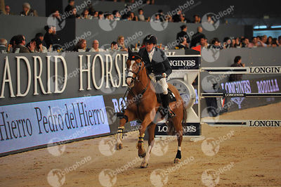DELESTRE Simon, (FRA), Chesall  during CSI5-W_1,60_Longines World Cup Grand Prix competition at Madrid Horse Week at IFEMA, Madrid - Spain