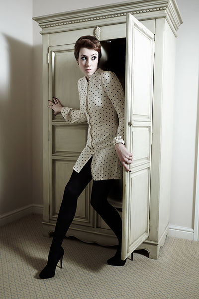 Alice Murray fashion shoot for What Women Want at Waterton Hall Hotel