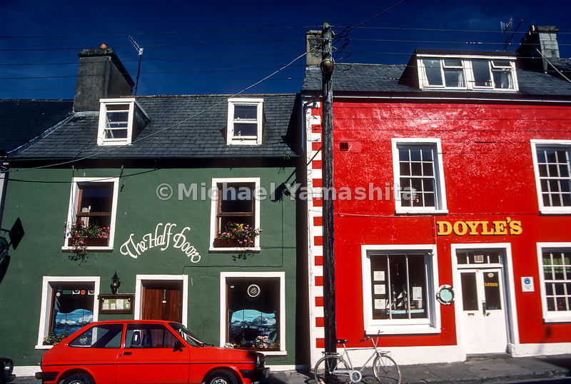 Downtown Main Street, Dingle, Ireland
