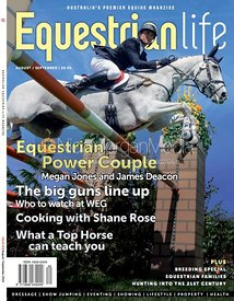 Paul Tapner and KILRONAN,  Badminton 2013, Equestrian Life Magazine