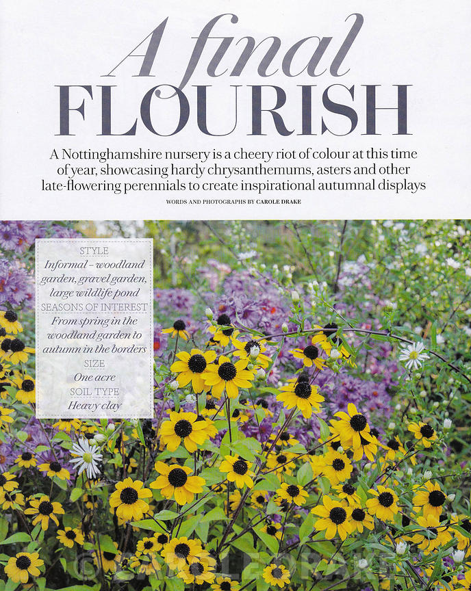 Norwell Nursery, Country Living, November 2014 photographs