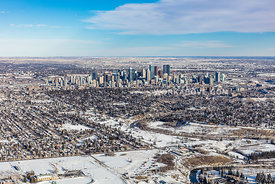 Winter Downtown Calgary