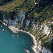 Cliffs by Ancona