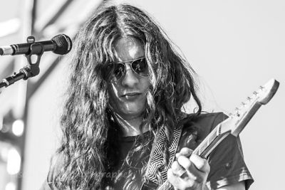 SACRAMENTO, 5TH OCTOBER 2014: Kurt Vile, guitar and vocals, Kurt Vile and the Violators, performing at TBD Fest, West Sacramento.