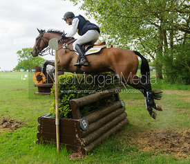 Bill Levett and IMPROVISE - Rockingham Castle International Horse Trials 2016