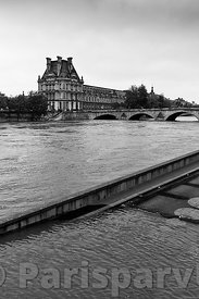 Floods of the Seine in June, 2016