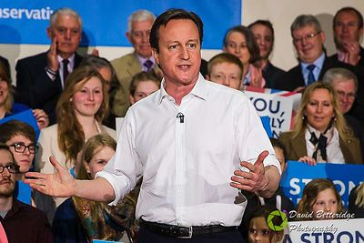 David Cameron attends Election Rally in Corsham  photos
