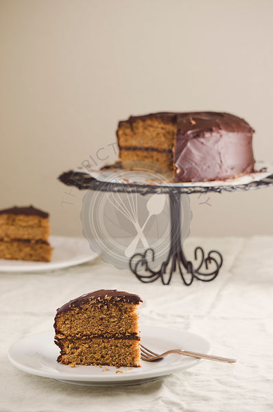 Layer Cake with Chocolate Frosting