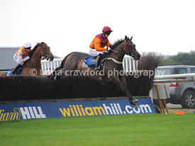 Wed 21st Aug 2013 Novices Steeple Chase with winner Bold Chief