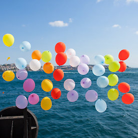Baloons on the Bosphorus 1