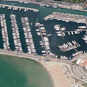 Rimini aerial photos