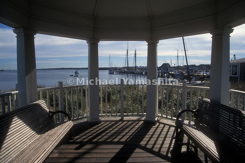 A breath taking view from a porch on Martha's Vineyard.