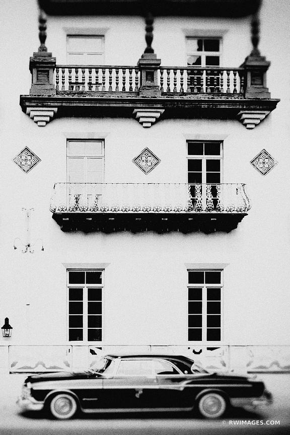 OLD HOTEL HISTORIC DISTRICT ST AUGUSTINE FLORIDA VINTAGE BLACK AND WHITE VERTICAL