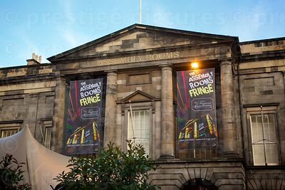 The George Street Assembly Rooms Fringe Festival  Performance Venue