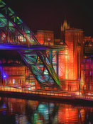Arty Tyne Bridge