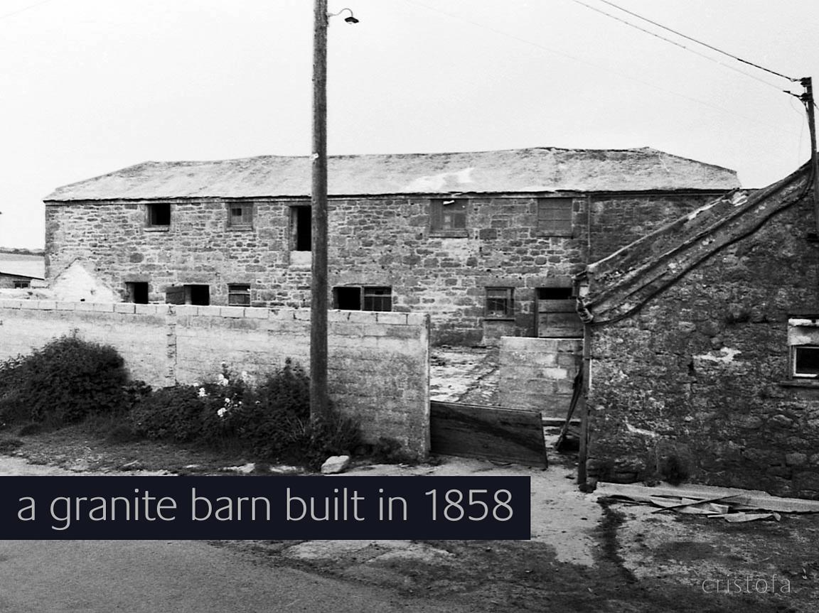 a 19th c granite barn ripe for conversion