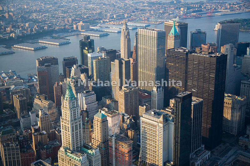 The Financial District is located at the southern end of Manhattan, New York City.