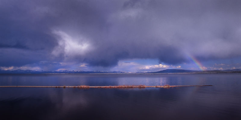 007-Western_Landscapes_D105063_Rainbow_Over_Yellowstone_Lake_Preview