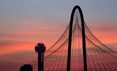 Dallas Icons at Sunrise